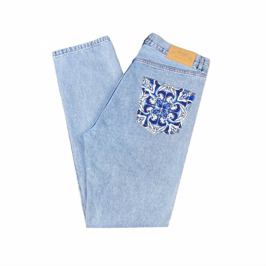Metralha x Add Fuel Jeans - Light Blue