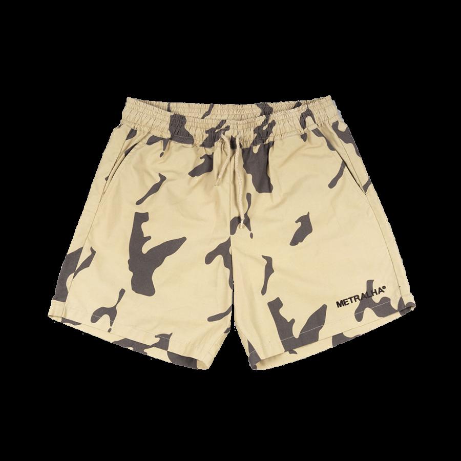 Metralha Sahara Beach Shorts - Camo