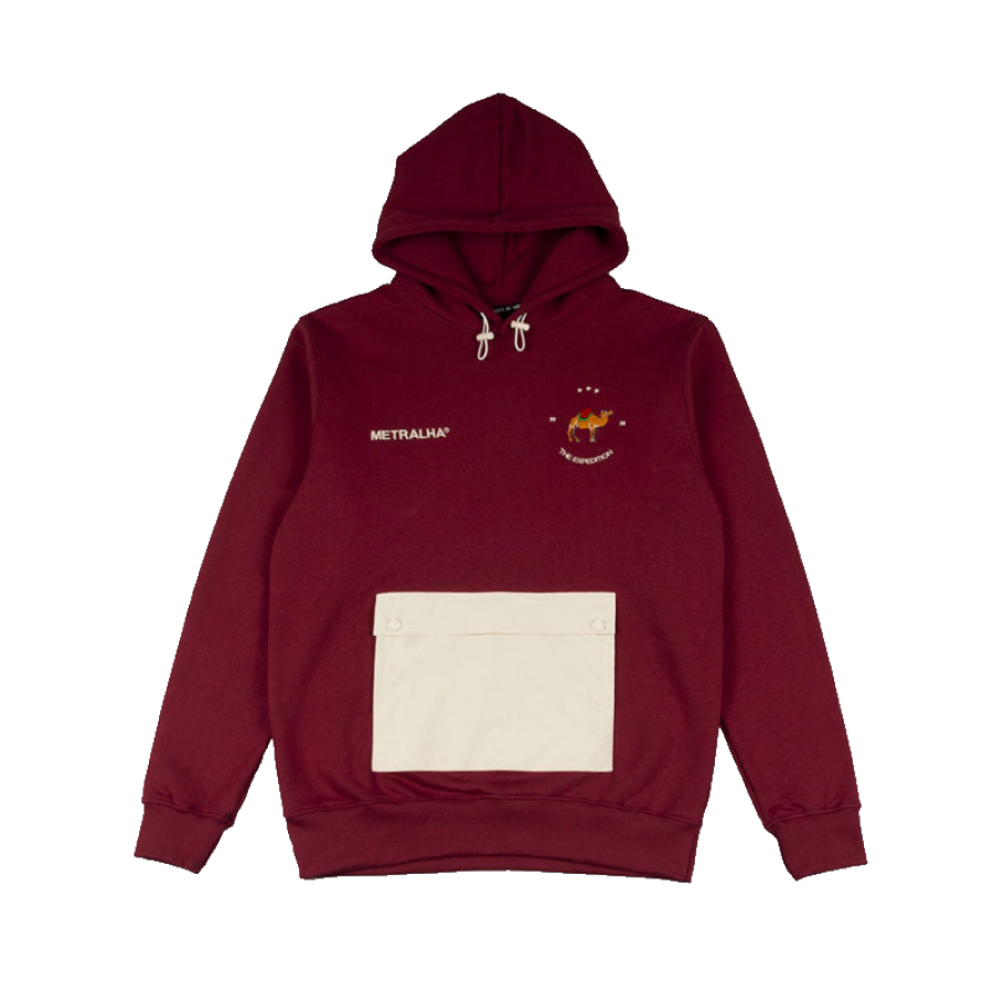 Metralha The Expedition Hoodie - Bordeaux