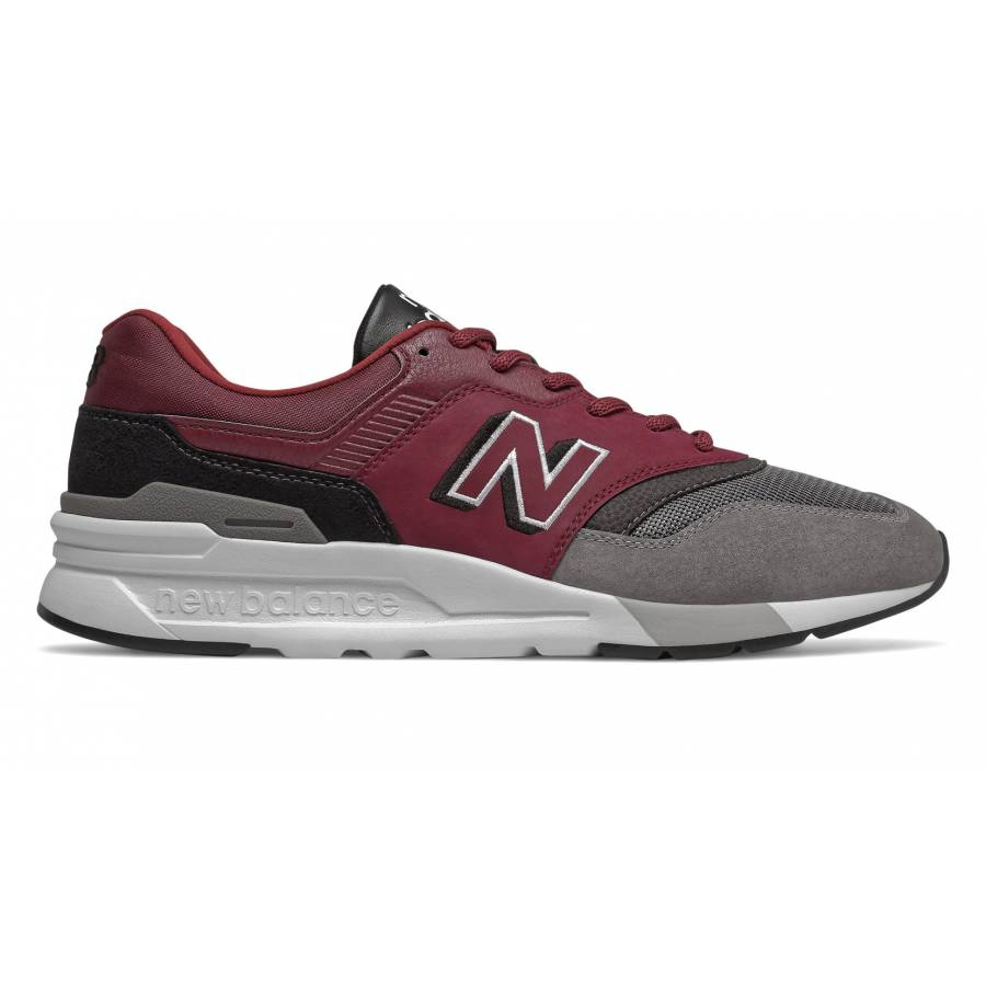 New Balance 997H- Burgundy with Black
