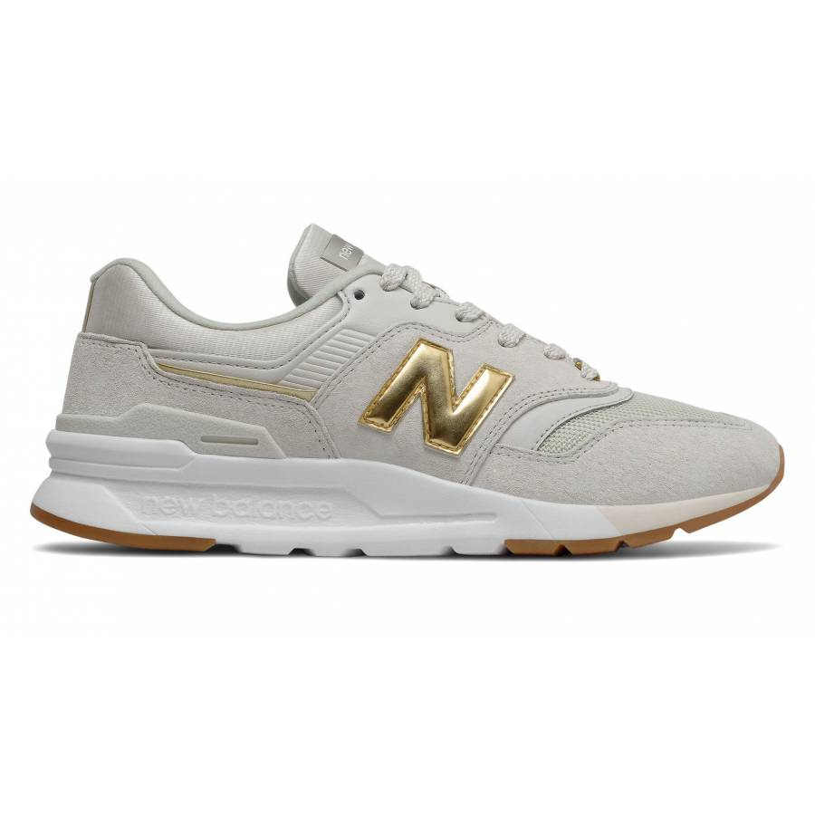 New Balance 997H- Moonbeam with Gold