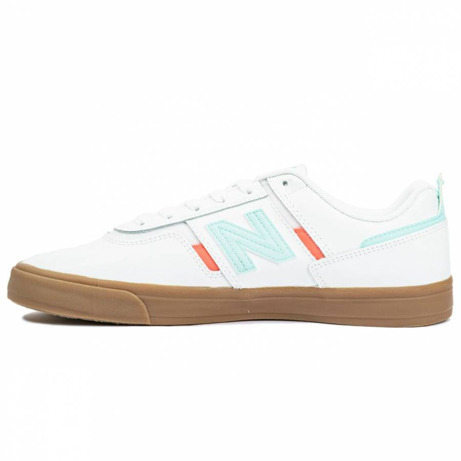 New Balance Numeric 306 - White With Gum