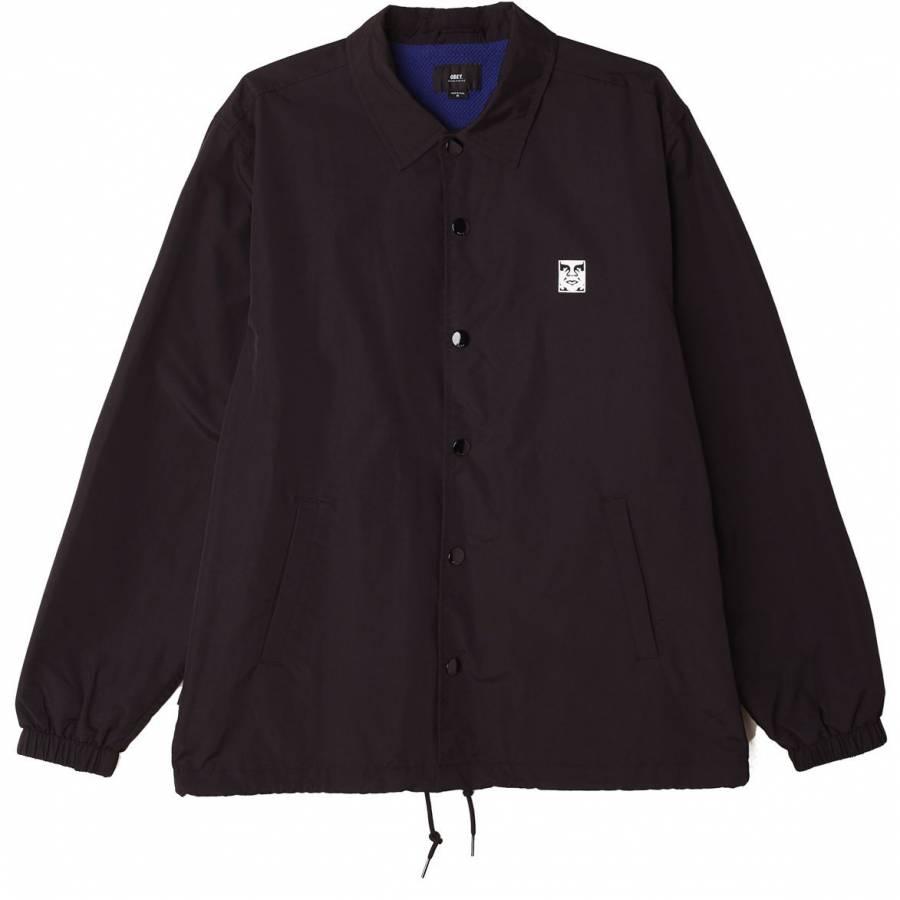 Obey Icon Coaches Jacket - Black