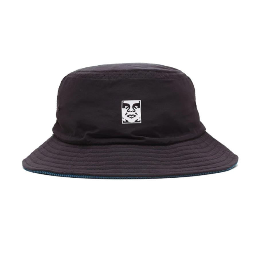 Obey Icon Reversible Bucket Hat - Black