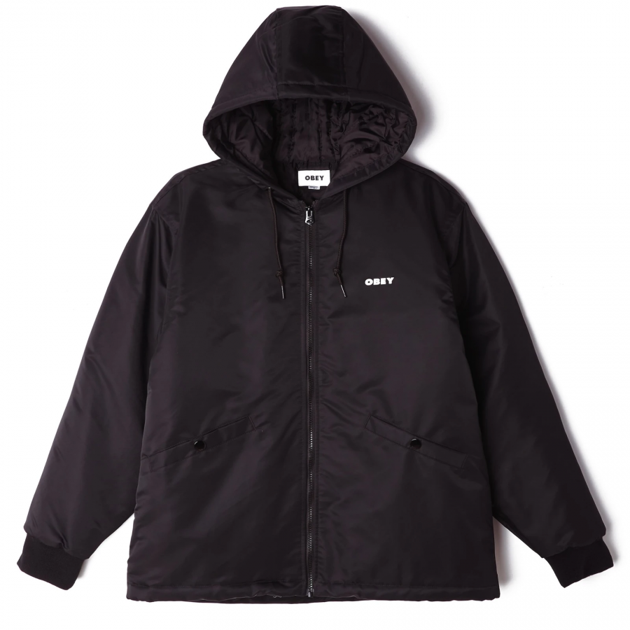 Obey Ultra Bomber Jacket - Black