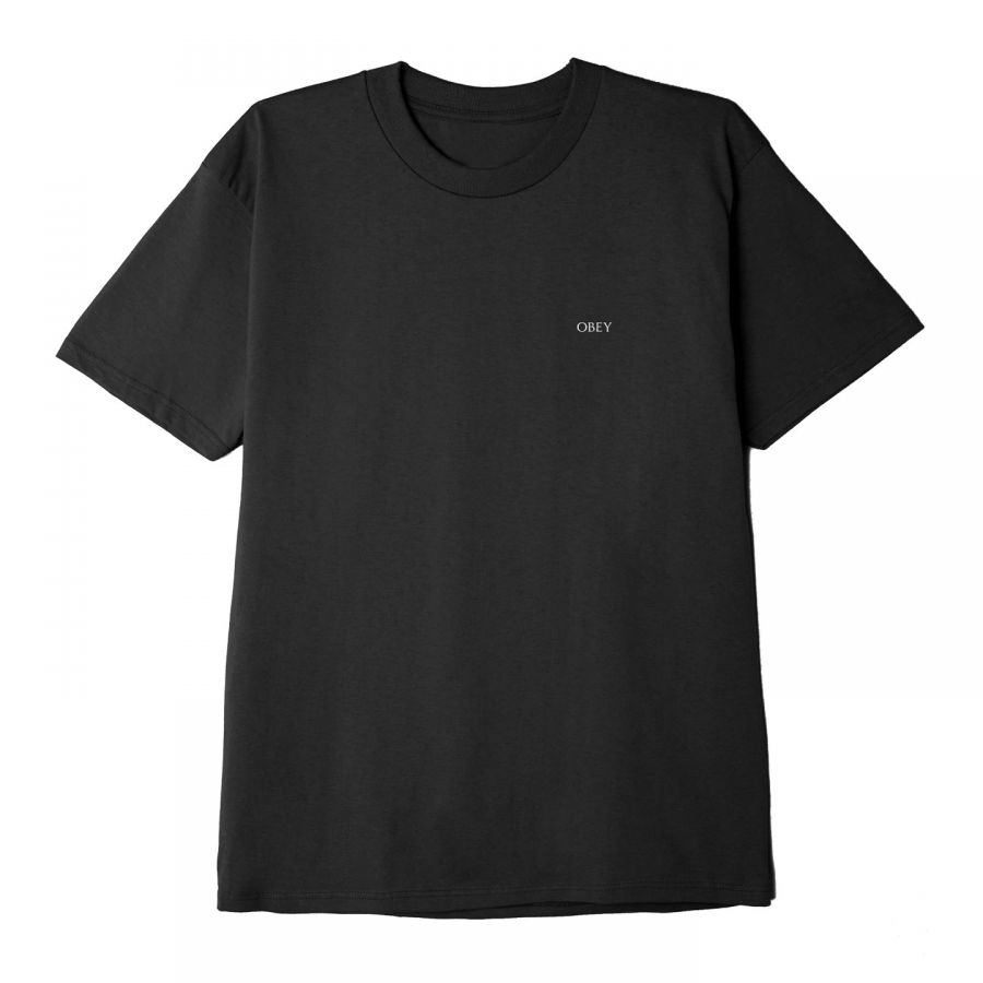 Obey Face Collage Classic Tee - Black