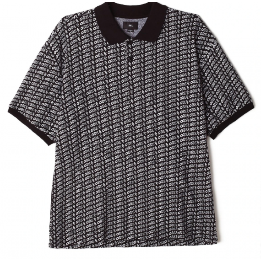 Obey Cutter Polo - Black Multi
