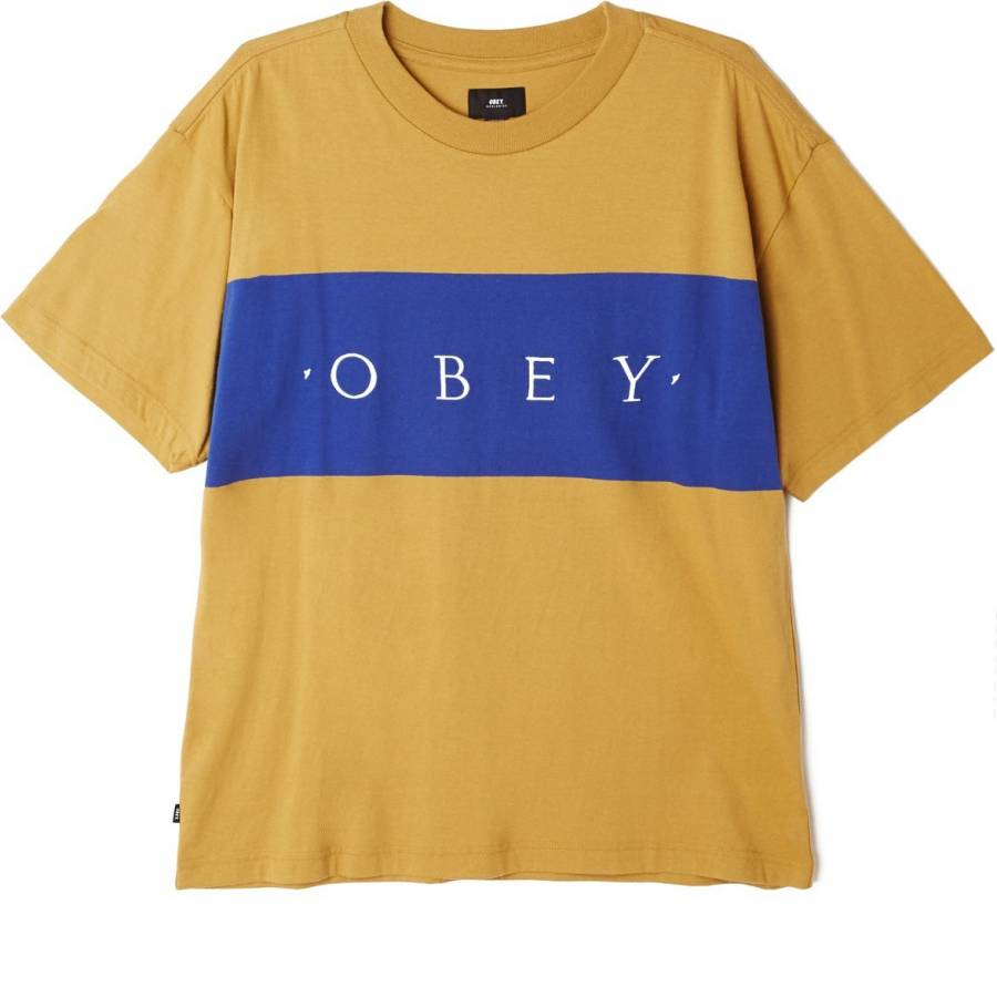 Obey Buddy Tee - Almond Multi