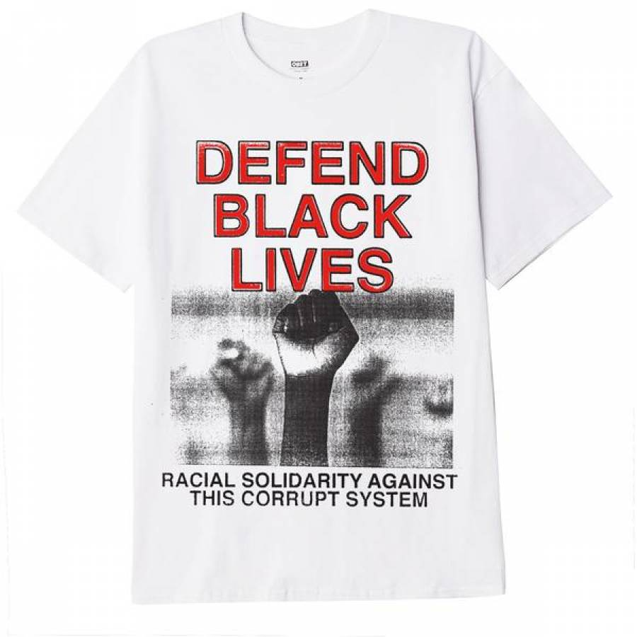 Obey Defend Black Lives 2 T-Shirt - White