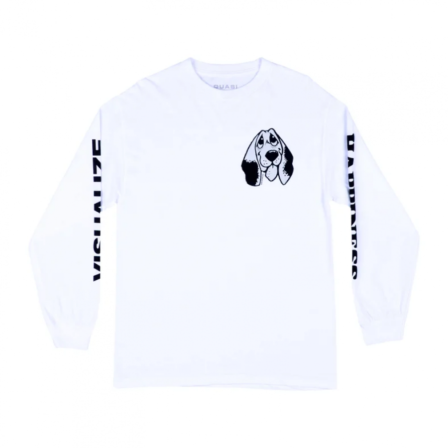 Quasi Skateboard Happiness Tee - White