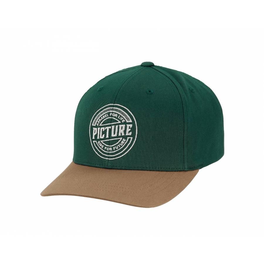 Picture Organic Brent Baseball Cap - Pine Green