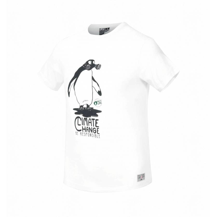 Picture Organic Carbon Tee - White