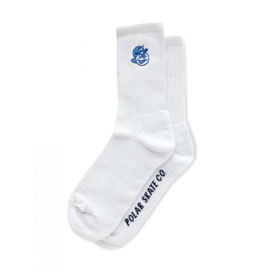 Polar 93' Socks - White