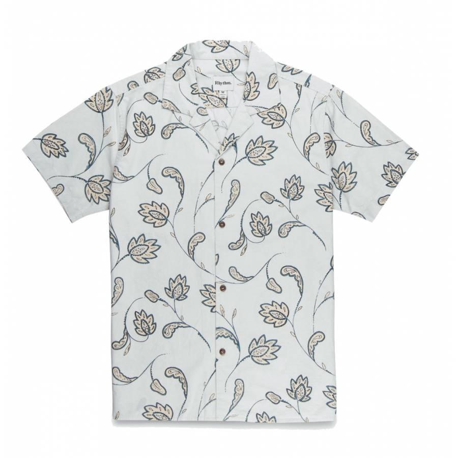 Rhythm Portugal SS Shirt - Seagrass