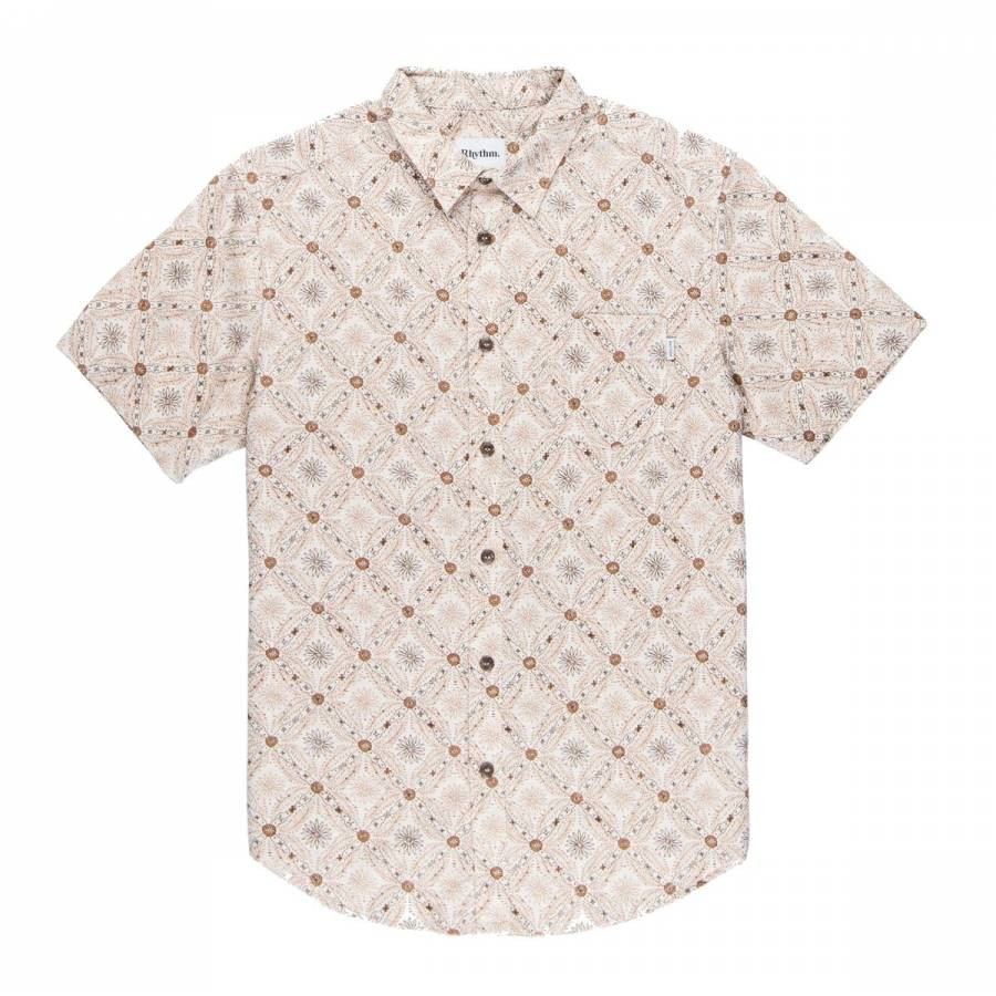 Rhythm Mentawai SS Shirt - Natural