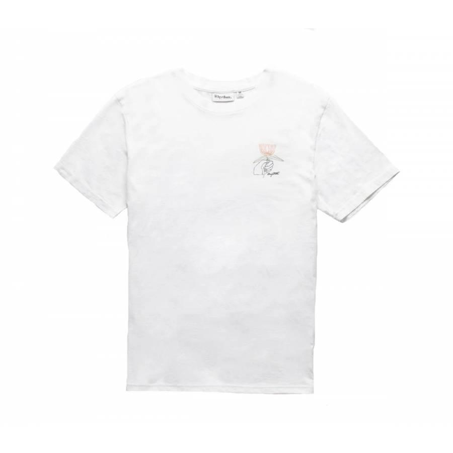 Rhythm For You Flower T-Shirt - White