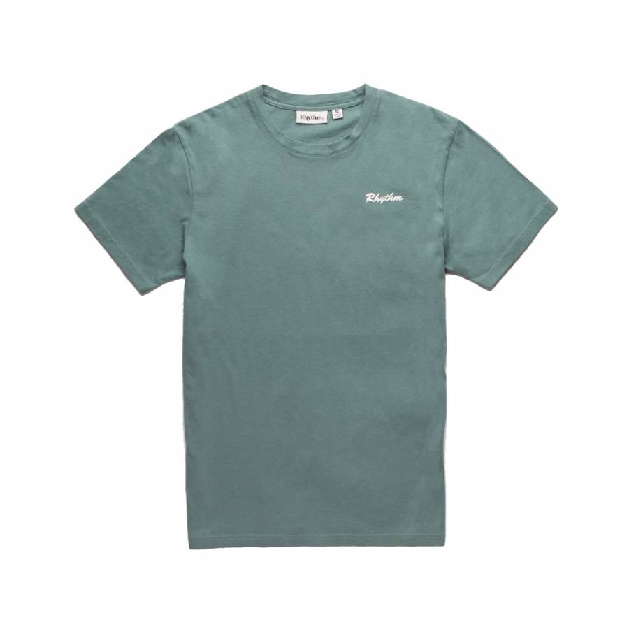 Rhythm Beach Day T-Shirt - Mineral Blue