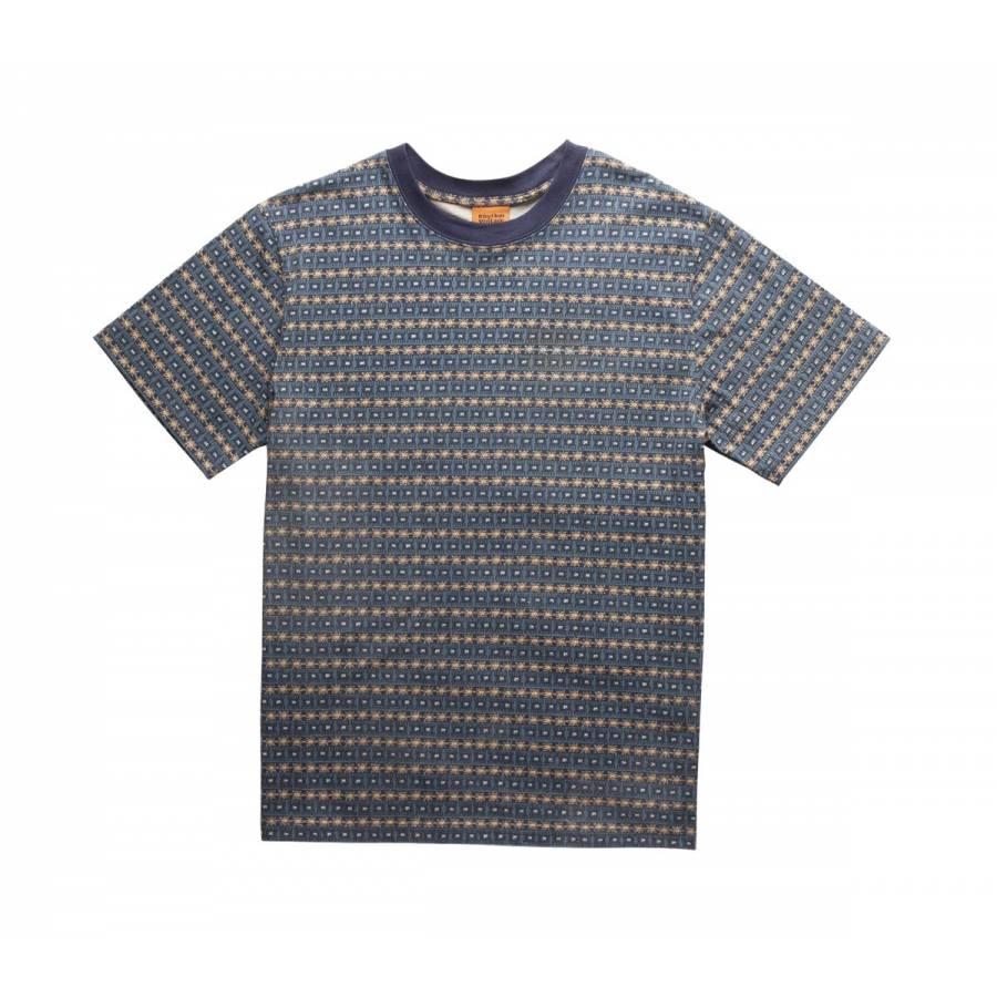 Rhythm Tribe Stripe T-shirt - Indigo