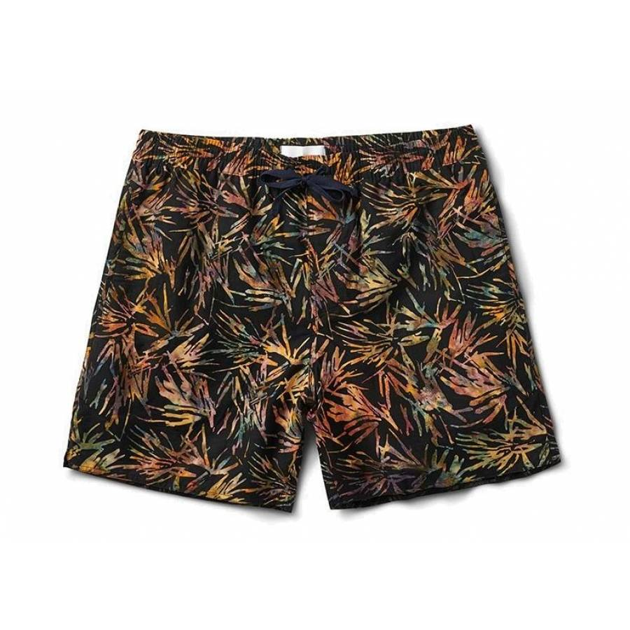 Roark Elastic Java Leaf Boadshorts -  Multi Color