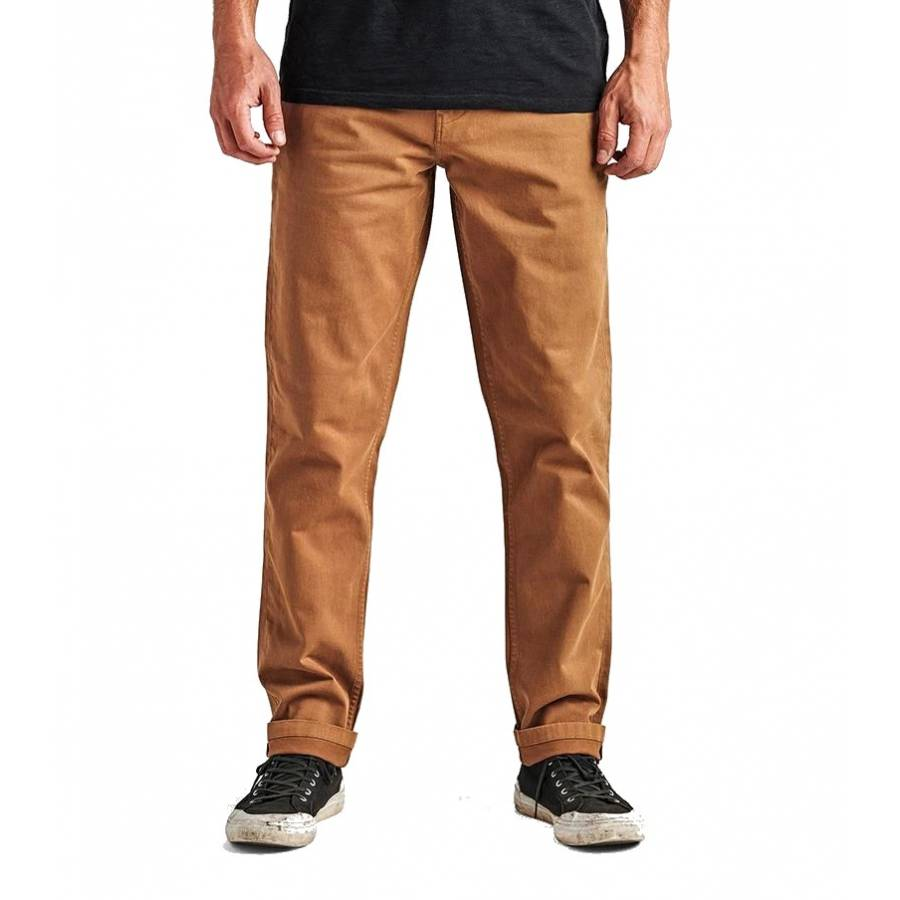 Roark Porter Chino Pants - Dark Khaki
