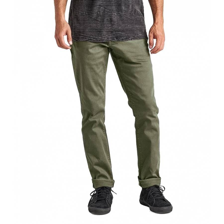 Roark HWY 133 Denim Pants - Army Green
