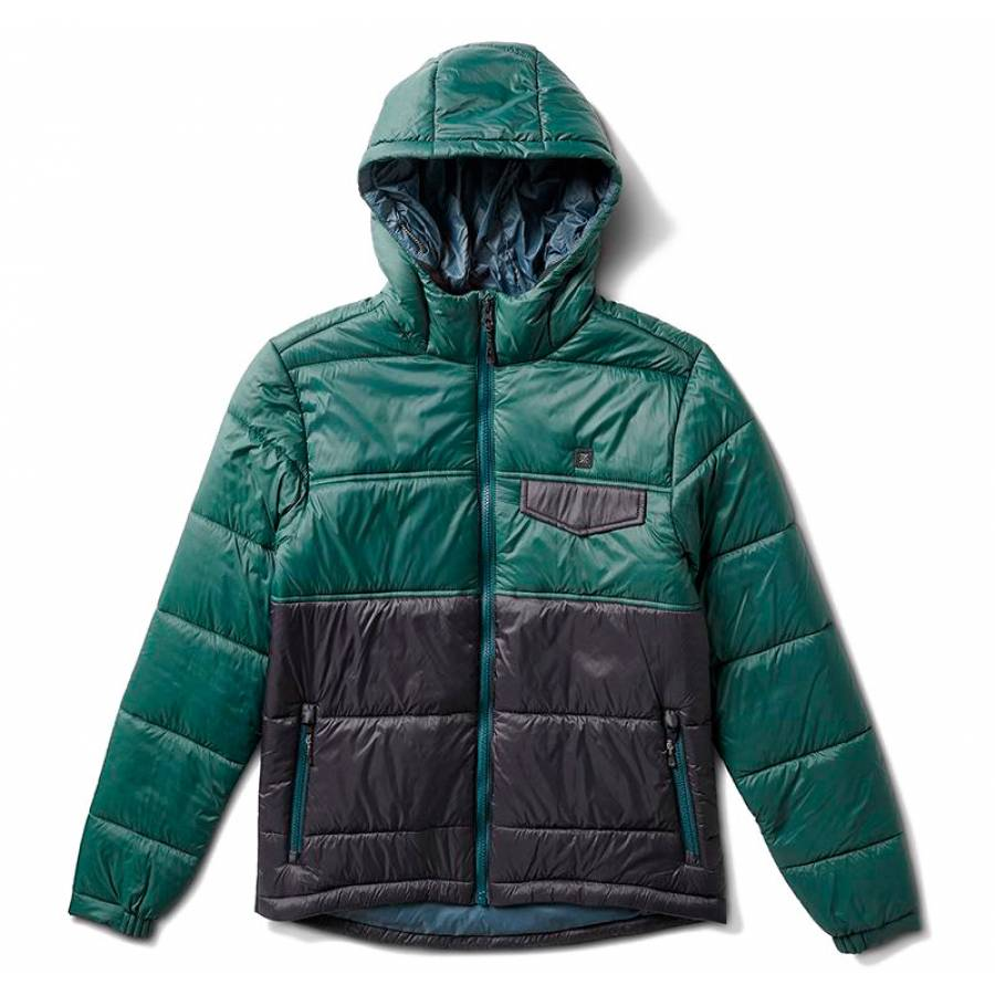 Roark Capstone Zip Jacket - Evergreen