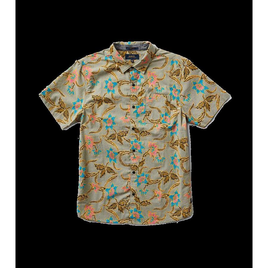 Roark Batavia Batik Button Up Shirt