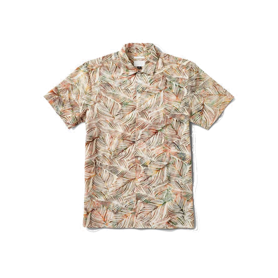 Roark Java Leaf Button Up shirt