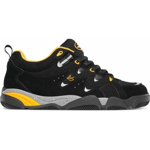 ÉS Skatebording Symbol - Black / Yellow