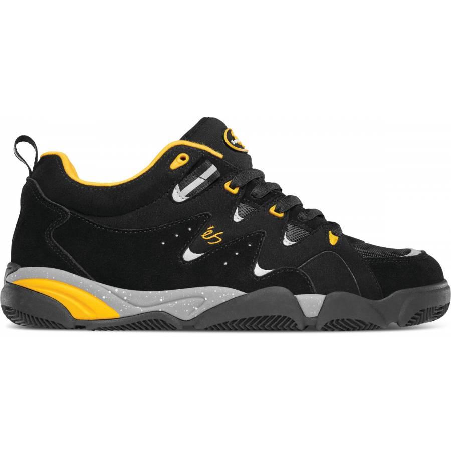 ÉS Skatebording Symbol - Black / Yellow