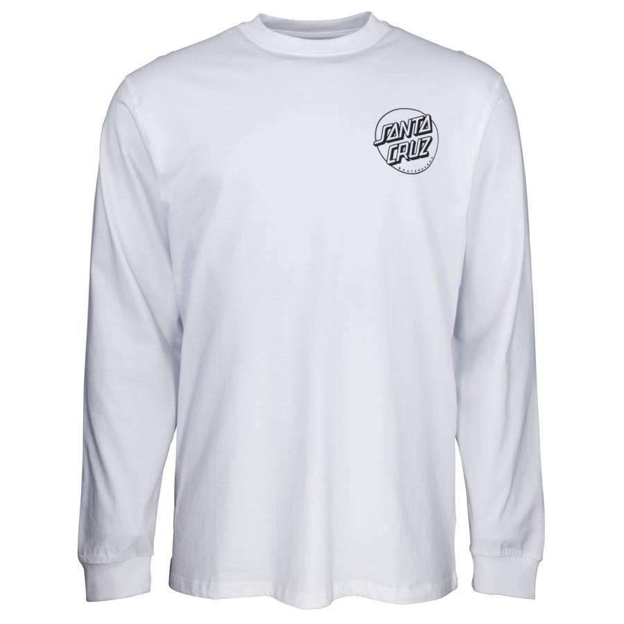 Santa Cruz O'Brien Reaper L/S T-Shirt - White