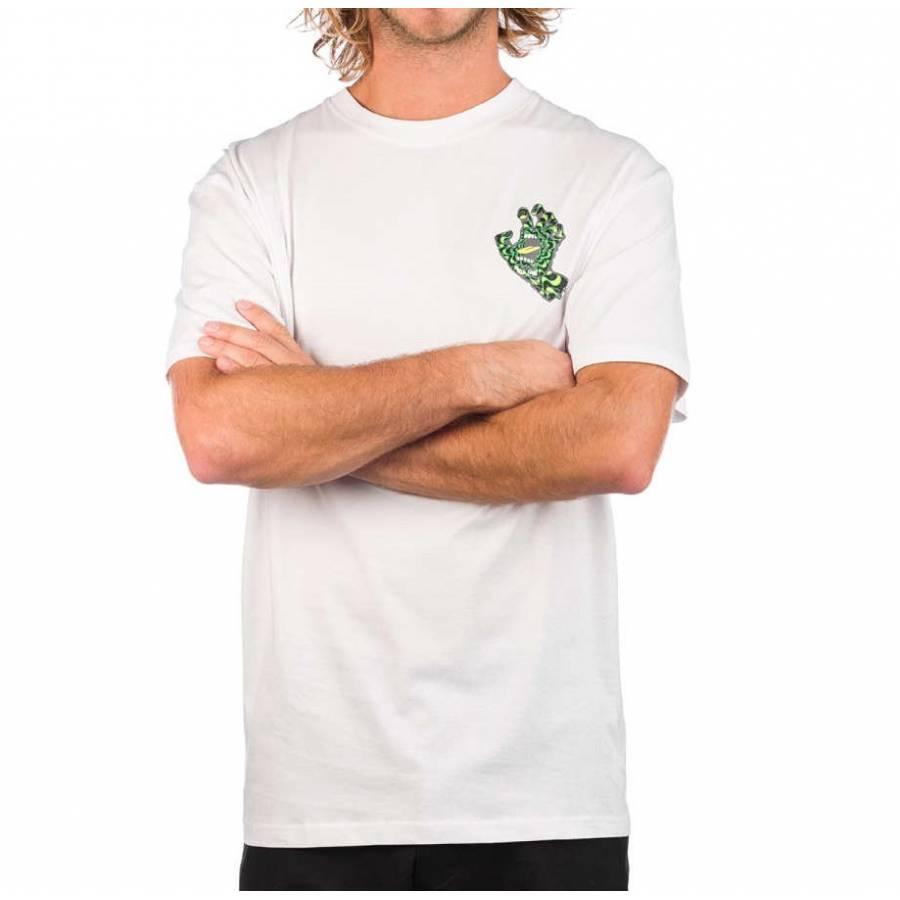 Santa Cruz Skateboards Kaleido Hand Skate T-Shirt ...