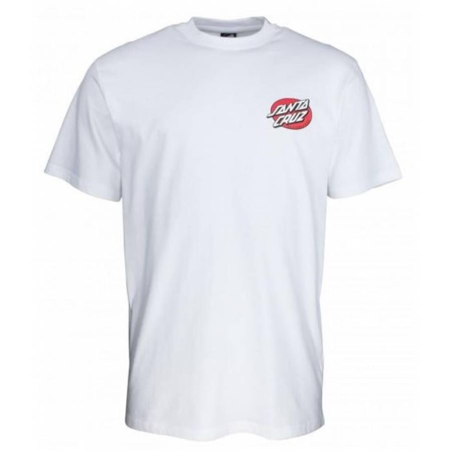 Santa Cruz Vintage Bone Hand T-shirt - White