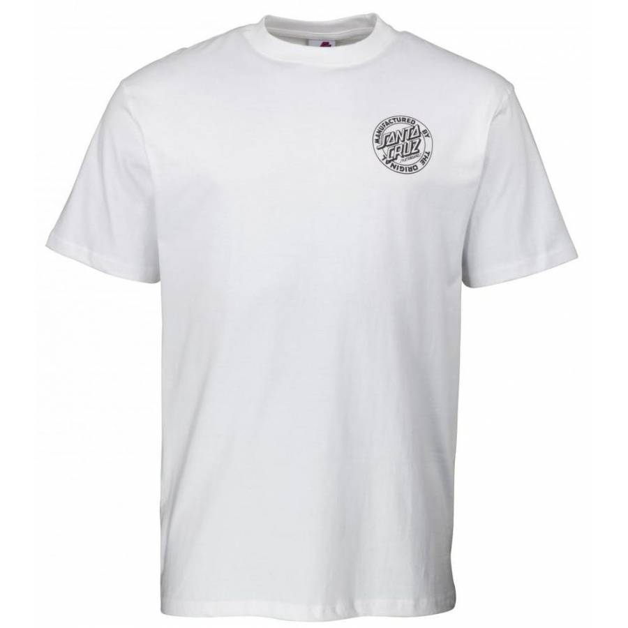 Santa Cruz Road Rider T Shirt - White