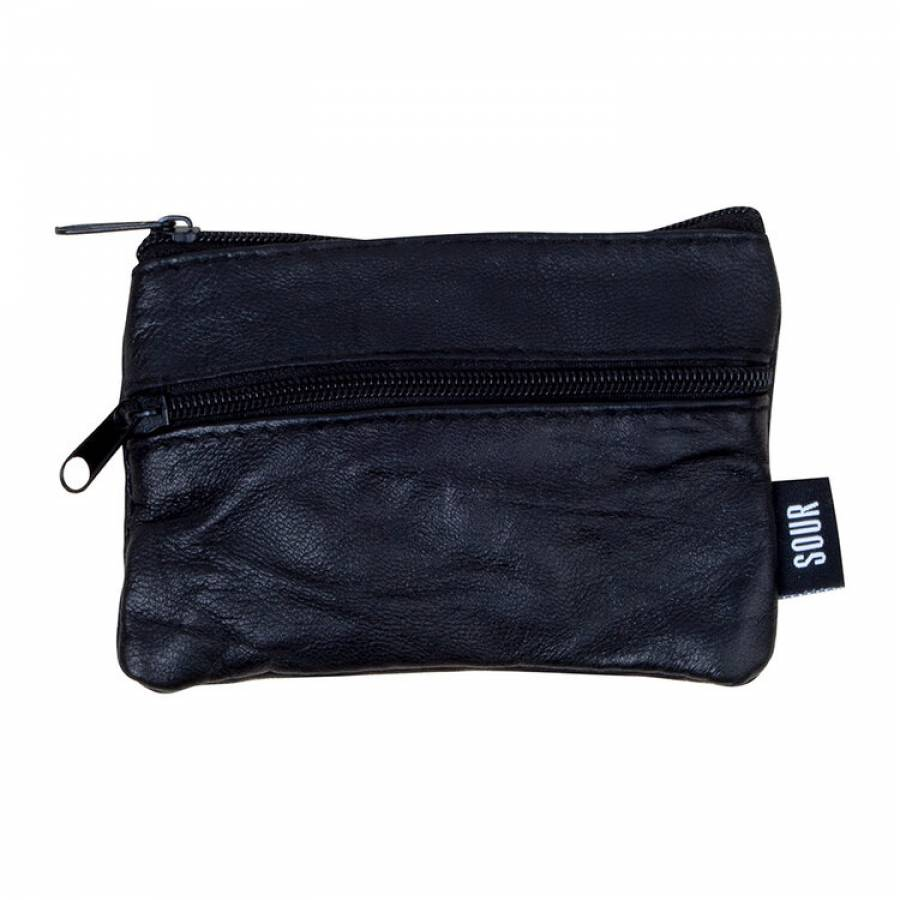 Sour Barcy Leather Wallet