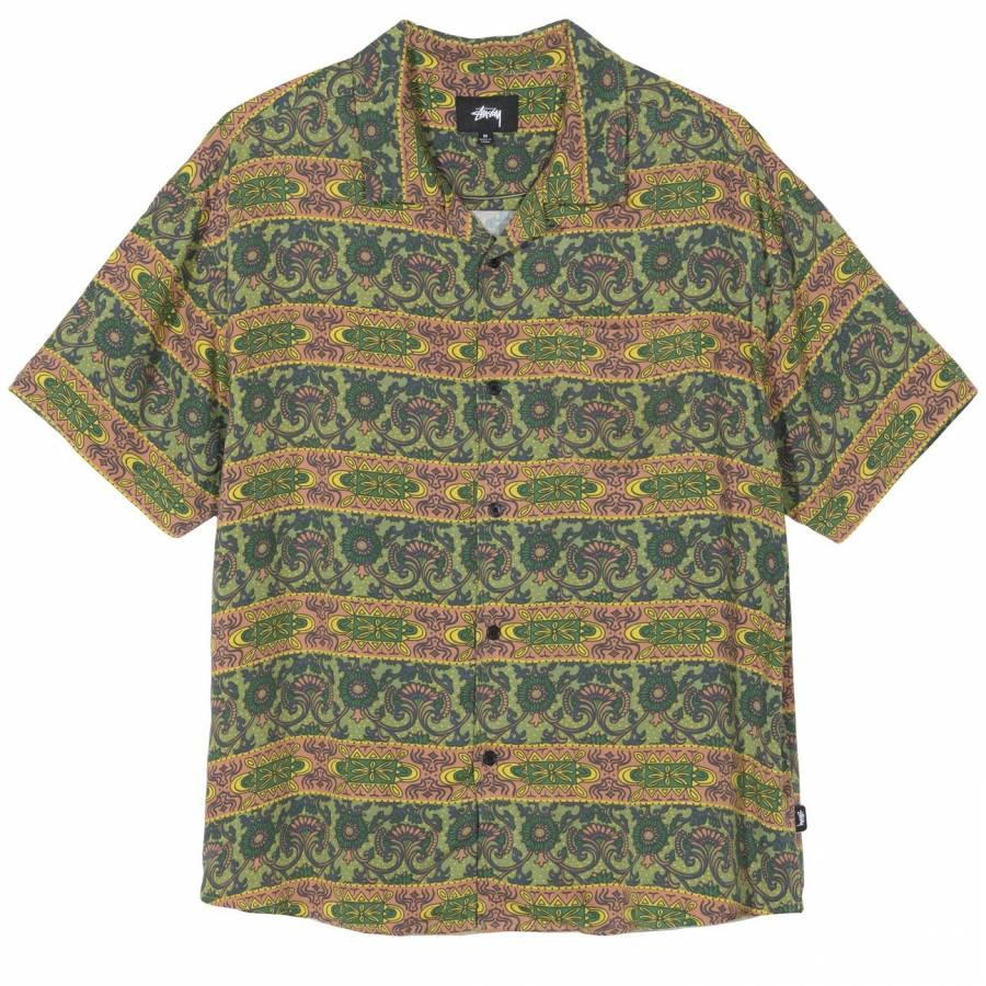 Stussy Baroque Shirt - Olive