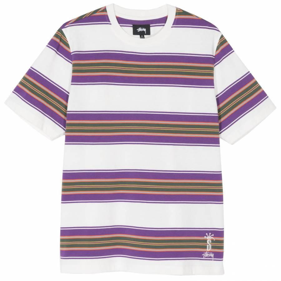 Stussy Multi Stripe Shirt - Natural