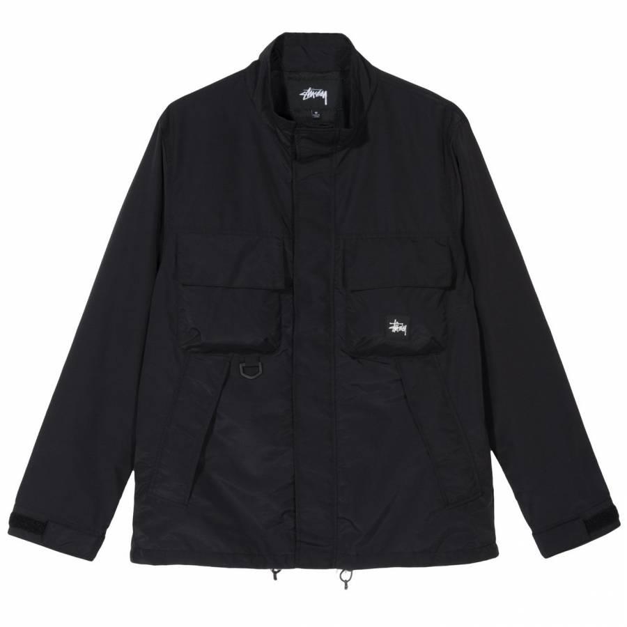 Stussy Cargo Jacket - Black