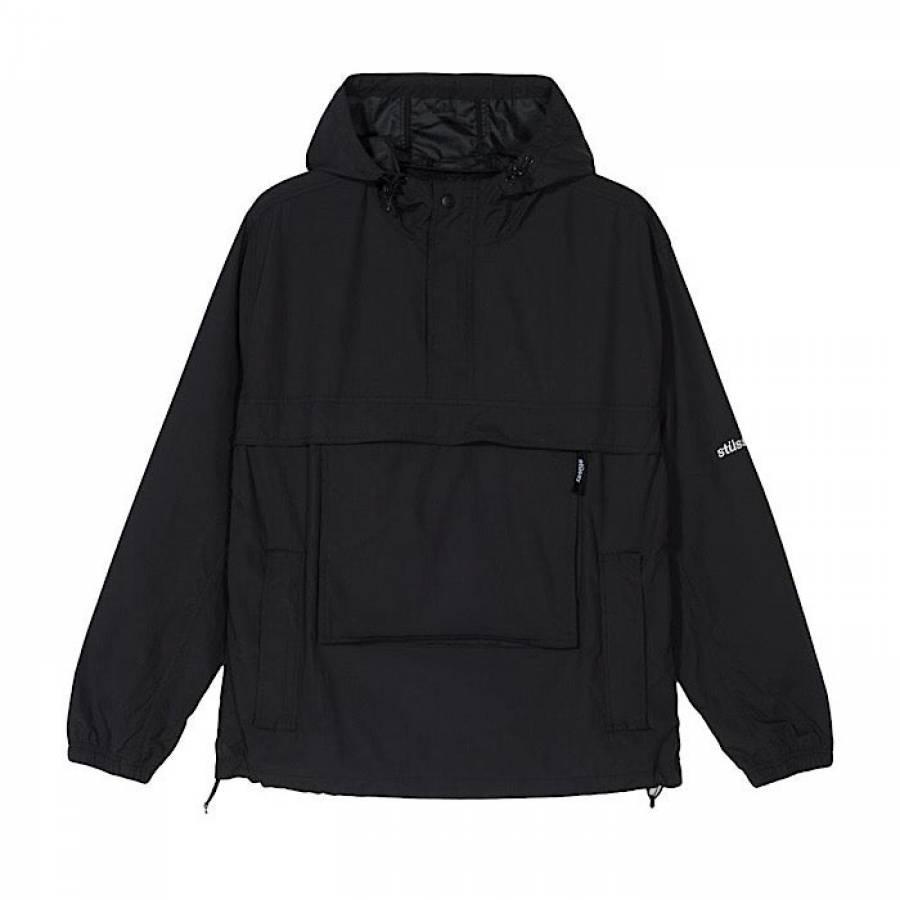 Stussy Packable Anorak Jacket - Black