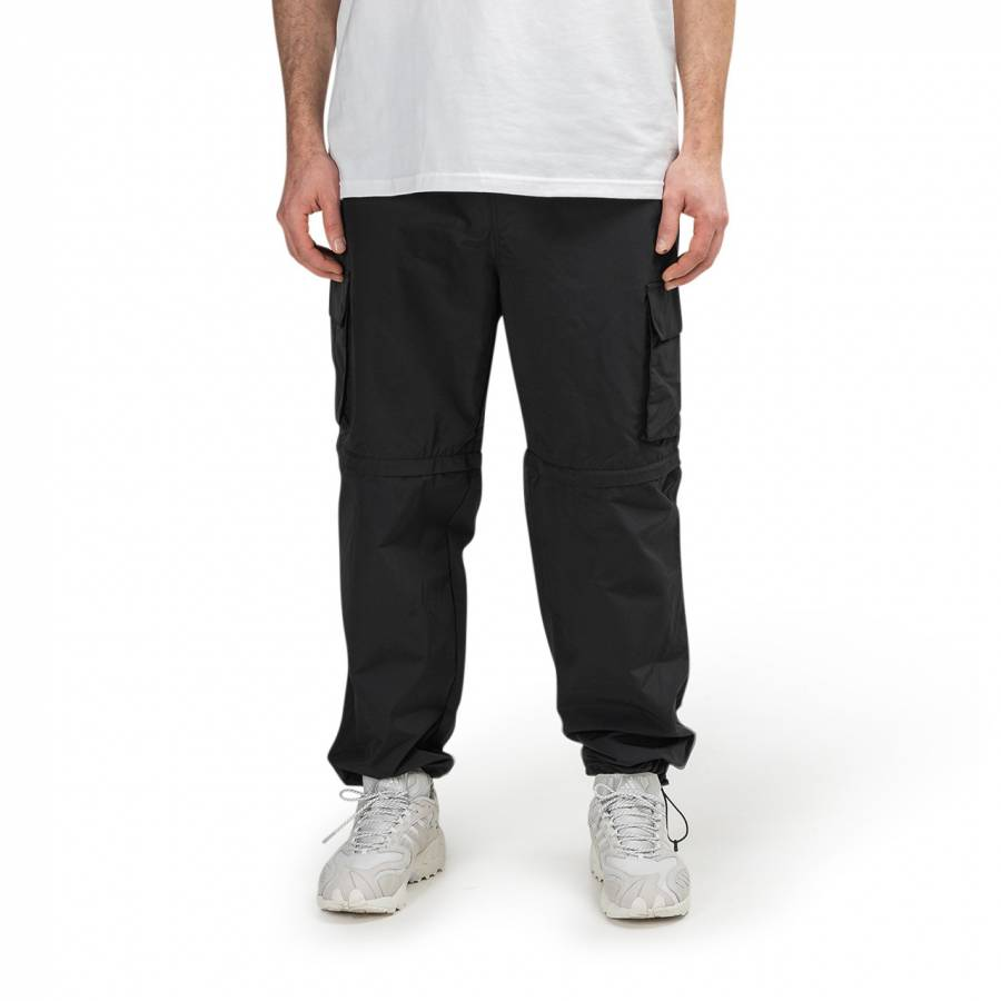 Stussy Zip Off Cargo Pant - Black