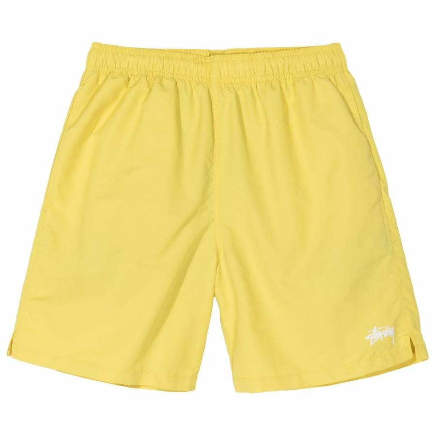 Stussy Stock Water Shorts - Yellow