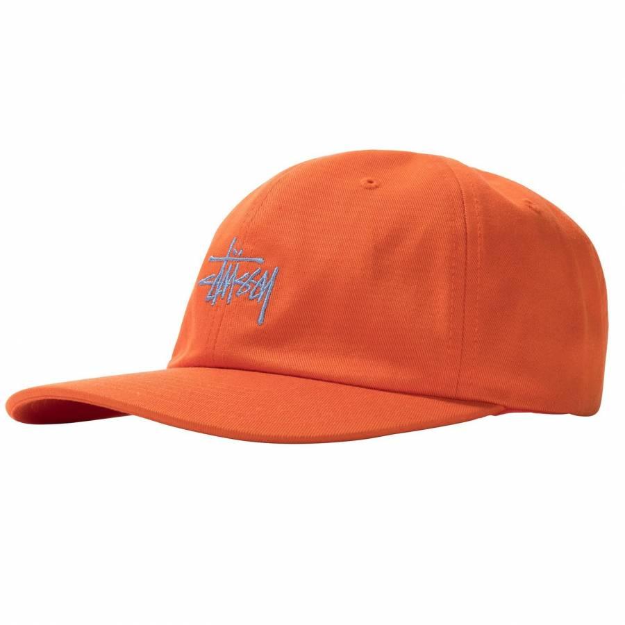 Stussy Stock Low Pro Cap - Orange