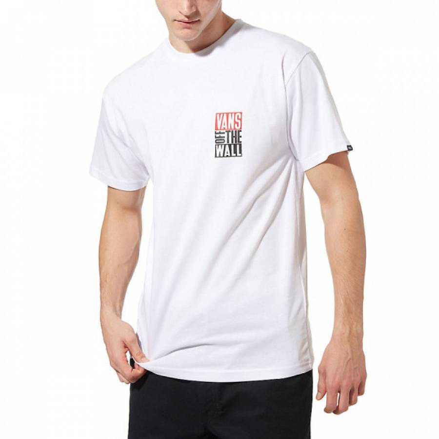 Vans Mn New Stax SS T-shirt - White