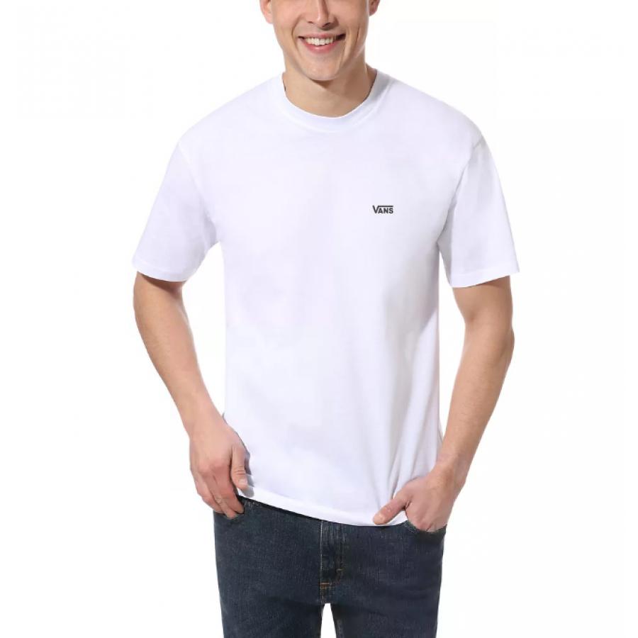 Vans Left Chest Logo T-shirt - White / Black