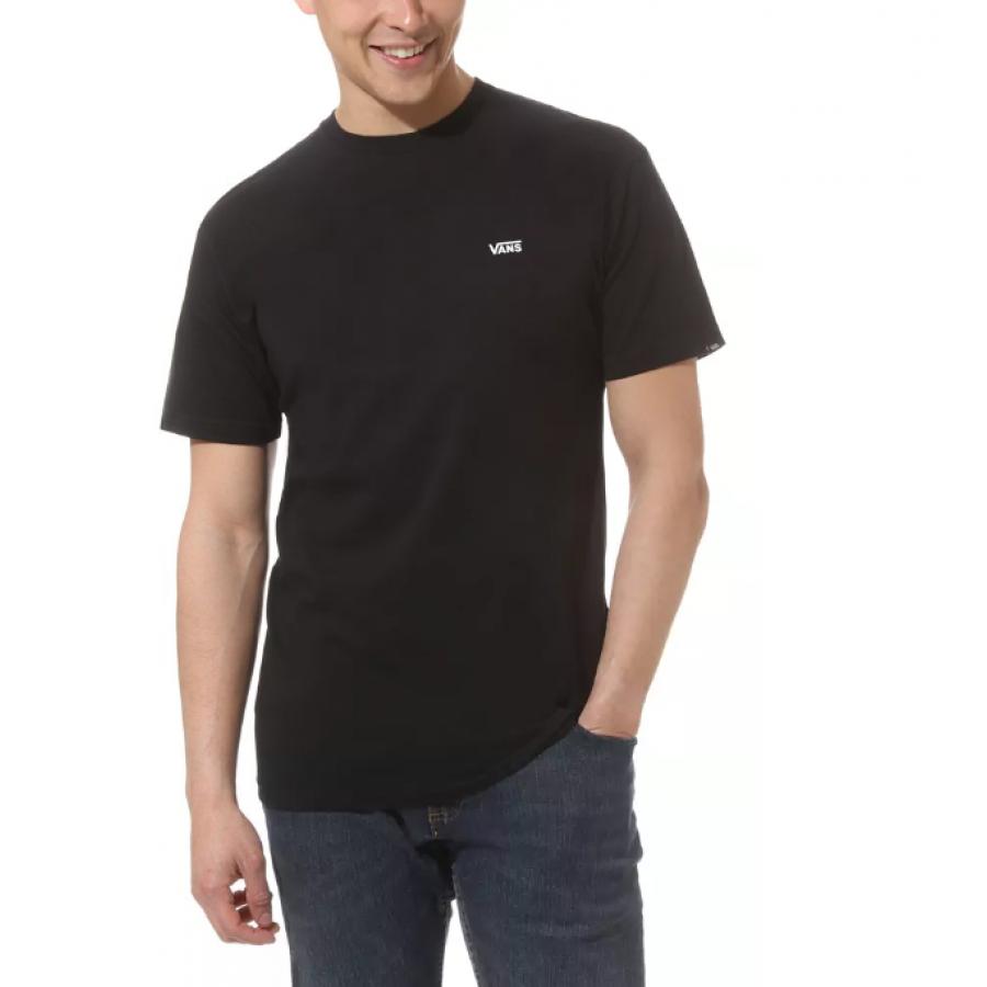 Vans Left Chest Logo T-shirt - Black / White