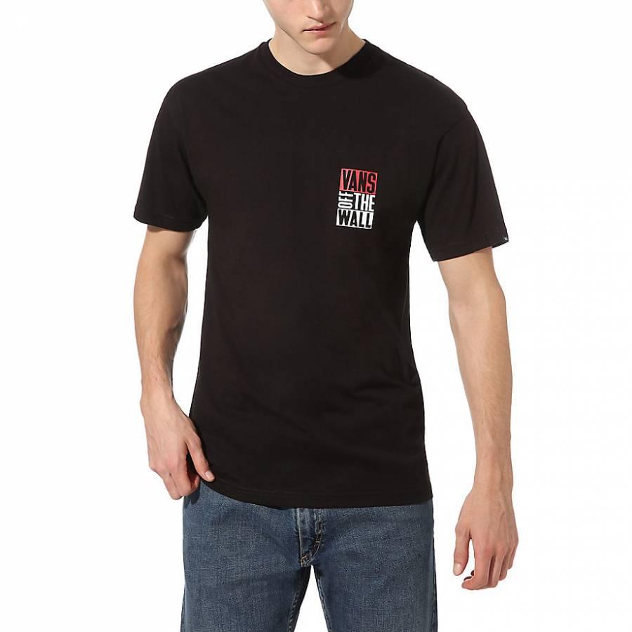 Vans Mn New Stax SS T-shirt - Black