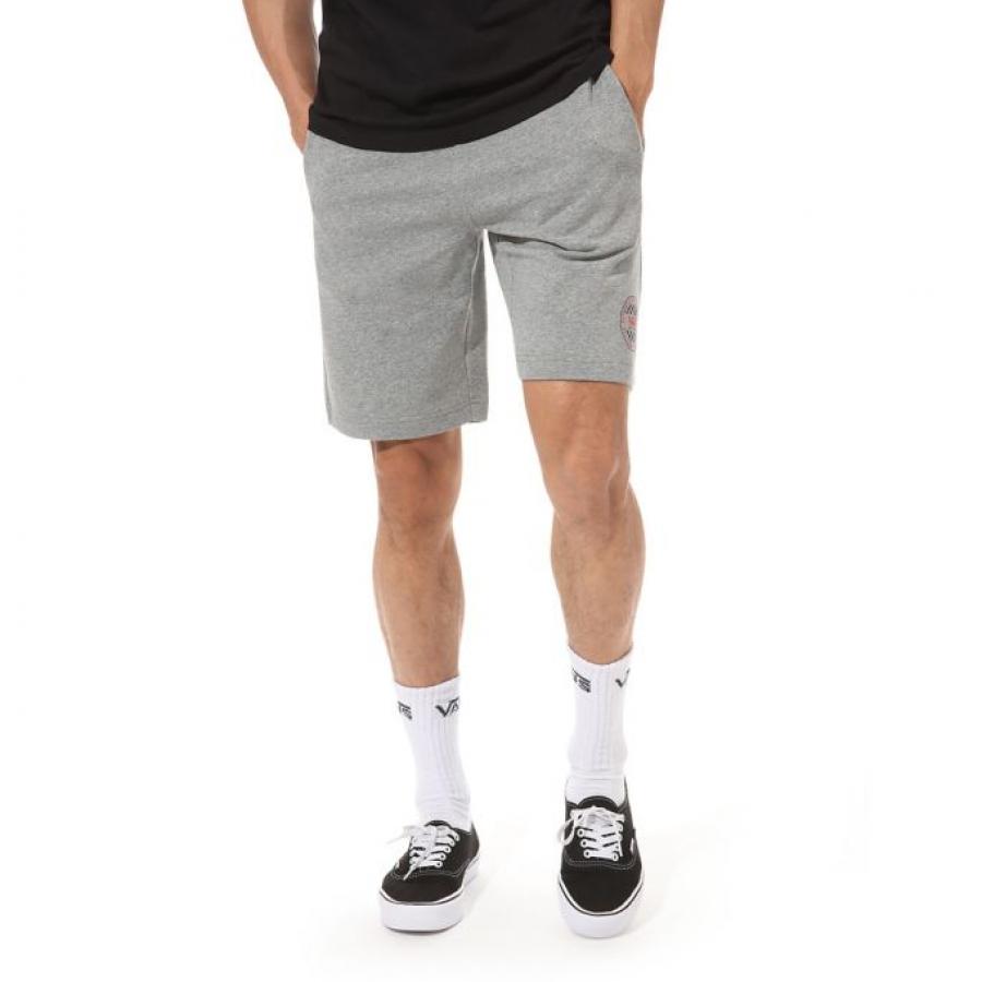 Vans Polar Checker Shorts- Cement Heather