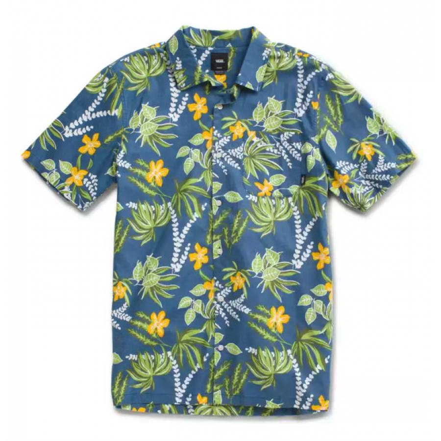 Vans Anaheim Factory Aldrich Buttondown Shirt - OG...