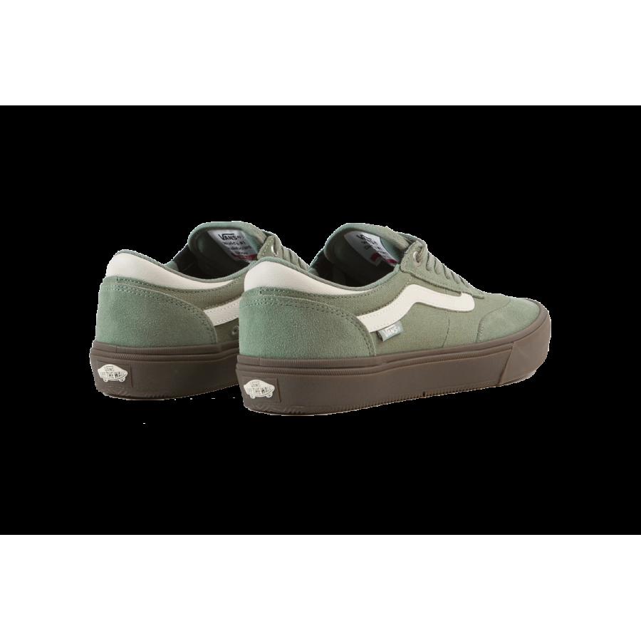 Vans Gilbert Crockett 2 Pro Shoes - ( Dark Gum ) Hedge Green