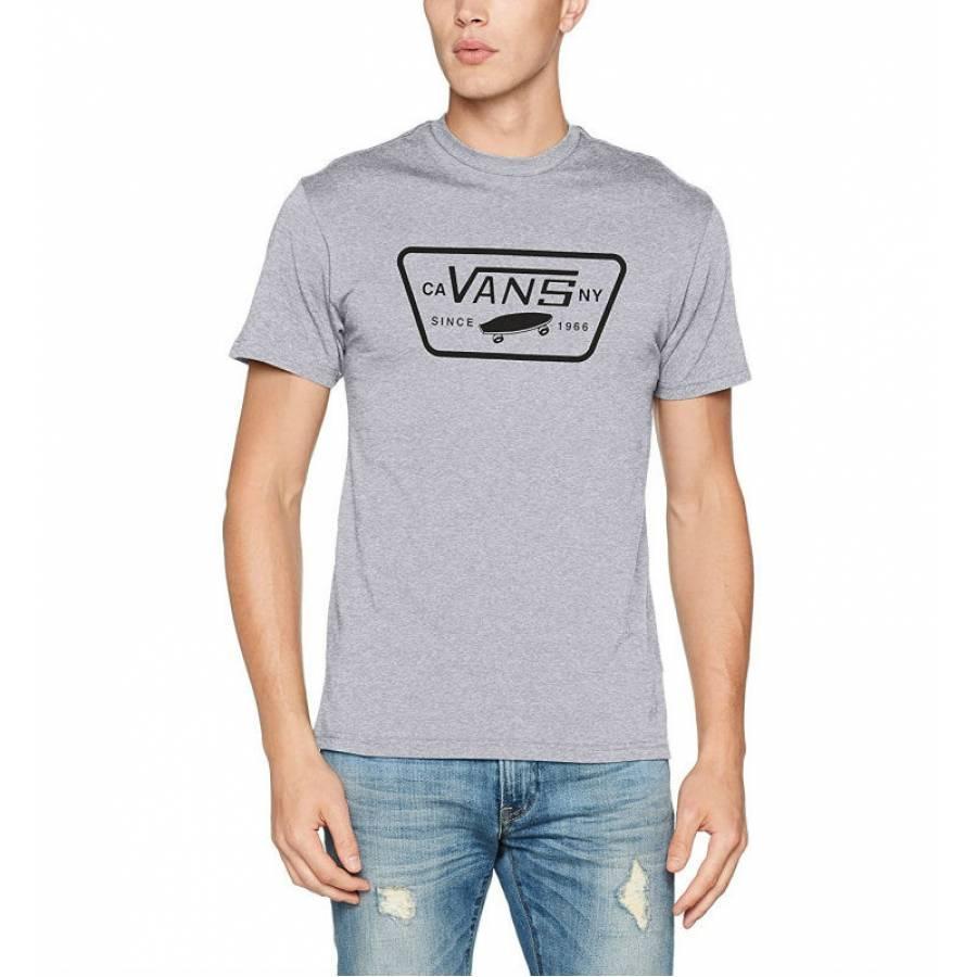 Vans Full Patch T-Shirt- Athletic Grey